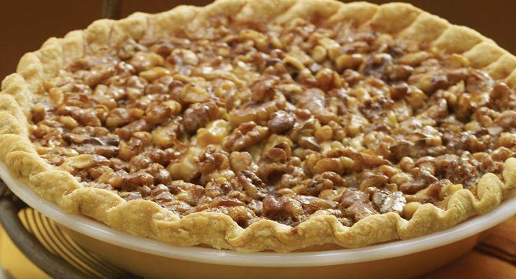 Vanilla Walnut Pie. i only had pecans but i wanna try with walnuts. 5/5