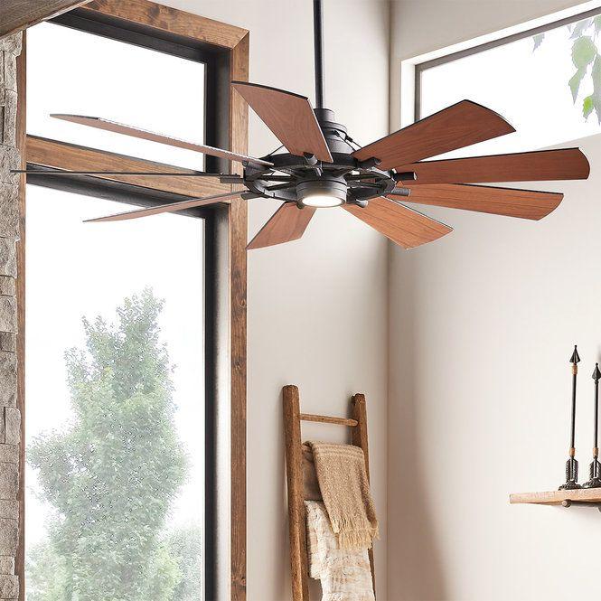 65 Industrial Spoke Ceiling Fan Ceiling Fan House With Porch Windmill Ceiling Fan
