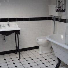 black and white border tiles for bathroom 17 best images about monochrome bathrooms on 25977