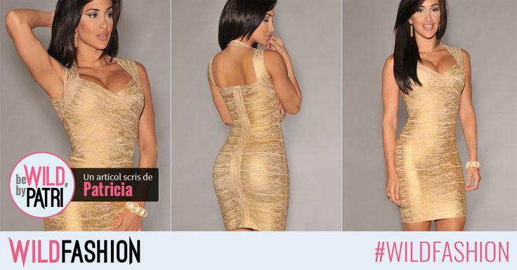 Strălucește la fiecare eveniment special. Like & Share dacă știi că vei atrage toate privirile în rochia noastră la următorul party.