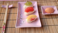 Sushi dolce di frutta, ricette giapponesi ;)