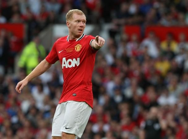 Paul Scholes. Favourite player ever, new contract signed.