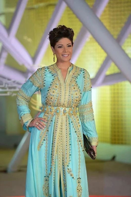 Boutique Vente Caftan Marocain 2014 - 2015 en Ligne : Caftan 2015 Leila Hadioui Festival du Film