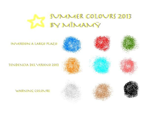 Summer colours 2013