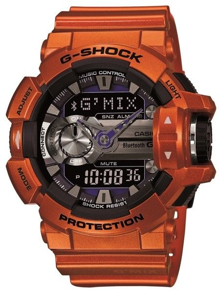 CASIO G-SHOCK G-MIX | GBA-400-4BER