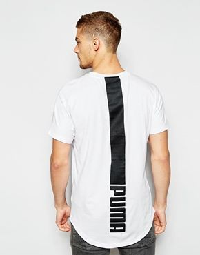 Puma Evolution Longline T-Shirt. SudaderasCamisetasEstilo De HombreAlzadoMaría  ...