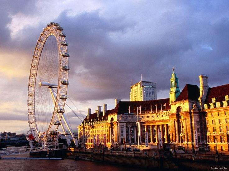 Ferris Wheel in London *-*