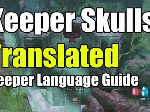 "Black Ops 3 Zetsubou No Shima Keeper Language Translated on Skulls ""Nan Sapwe Keeper code"" keeper code keeper language translation and skulls of nan sapwe this video will translate keeper code and show you how to do it and work out Easter eggs keeper language and keeper code this will help with skull of nan sapwe and other black ops 3 zetsubou Easter eggs, to translate keeper language  and Apothicon language Translation use <br /><br /><a href=""http://www.kronorium.com/"" target=""_blank""…"
