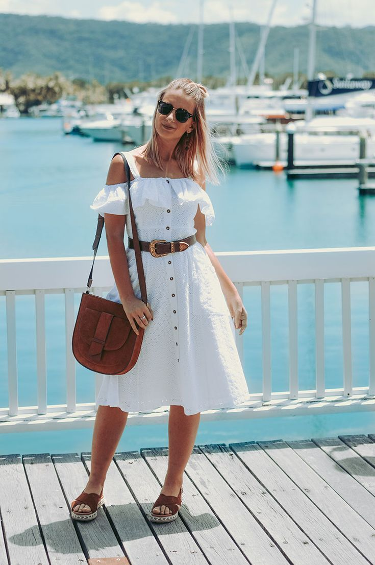 7 Fail Safe White Dress Ideas For Summer The Daily Luxe Boho Style Outfits Summer White Dress Outfit Clothes For Women [ 1106 x 735 Pixel ]