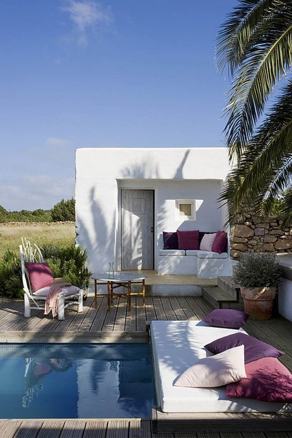 another stunning house on formentera by the style files, via Flickr #cabin #outdoorliving