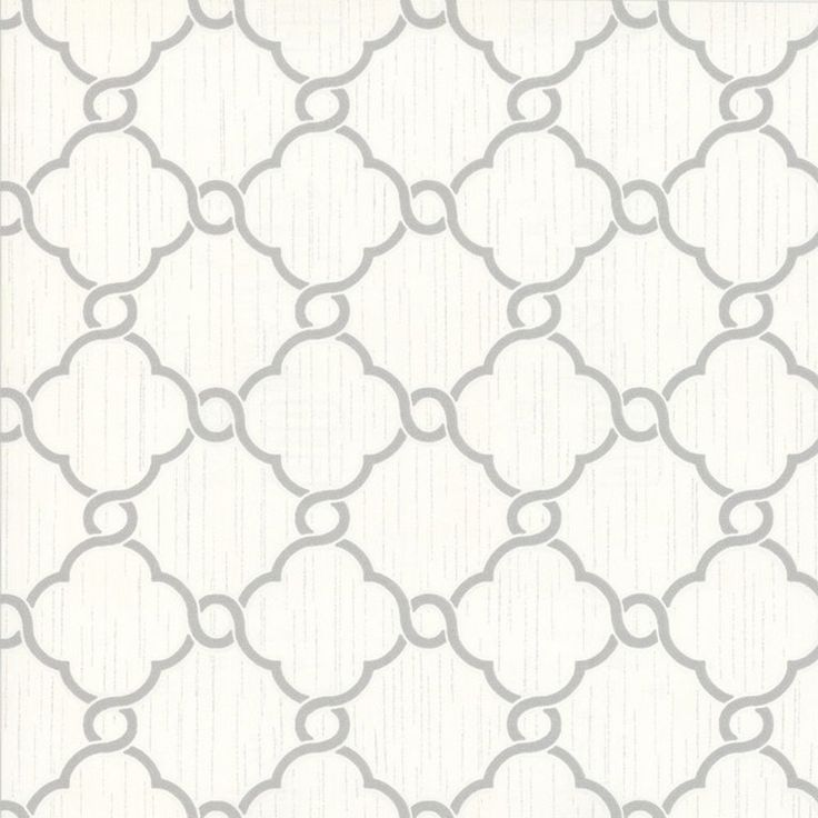 Opal Geometric Glitter Wallpaper Cream and Silver P+S 02493-30