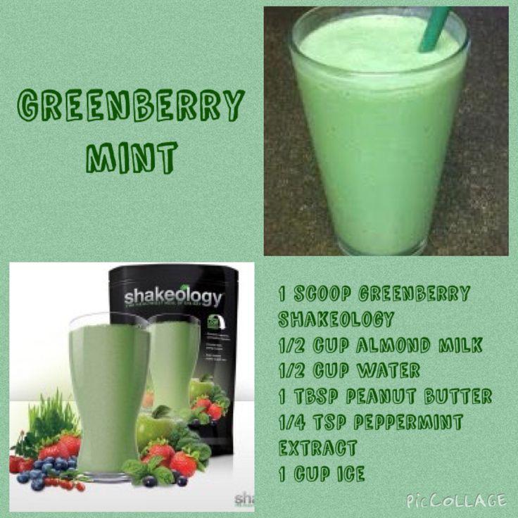 Day 25 ~ Greenberry Mint Shakeology