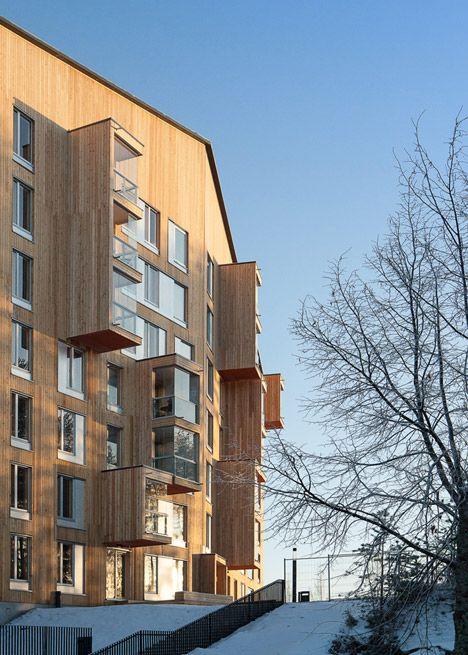 Puukuokka – the tallest wooden apartment block in Finland