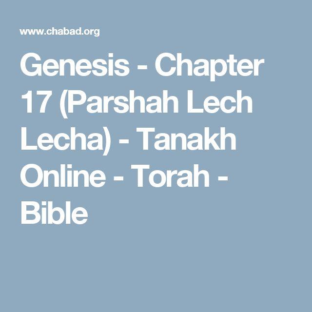 Genesis - Chapter 17 (Parshah Lech Lecha) - Tanakh Online - Torah - Bible