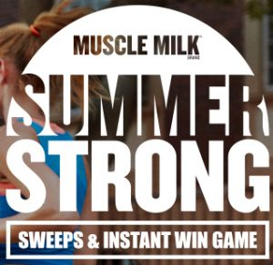 Muscle Milk Brand Summer Strong Sweepstakes & Instant Win Game!