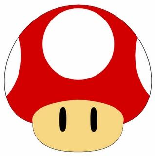 freebie Mario brothers Mushroom svg
