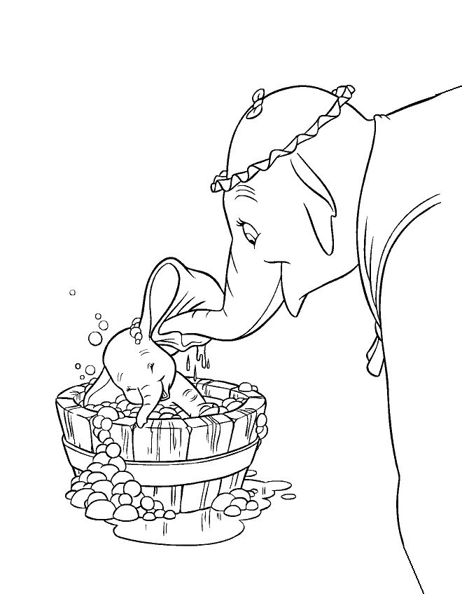 different disney character coloring pages - photo#10