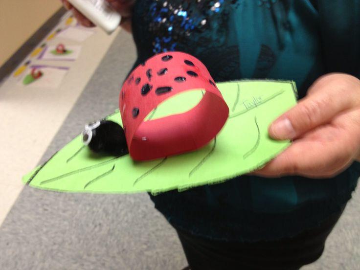 Cute ladybug craft