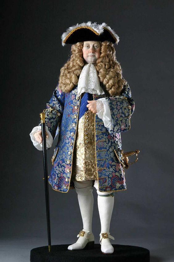 George Ludwig, Elector of Hanover, was crowned King of Great Britain and King of Ireland in 1714, succeeding Queen Anne. The first Hanoverian monarch of Great Britain and Ireland, he spoke no English, but his native German or French. His mistress, the Duchess of Kendal, often translated for him. He imprisoned for life his wife Sophia of Celle for a believed indiscretion. During his reign, the powers of the monarchy were diminished, as the modern Cabinet system of government developed.