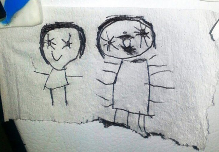 9 Inapropiados Y Perturbadores Dibujos Hechos Por Ninos Dibujos Dibujos Significativos Dibujos Terrorificos