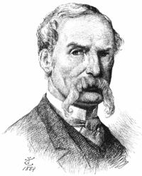 John_Tenniel, original illustrator of Lewis Carroll's Alice in Wonderland.png 200×248 pixels