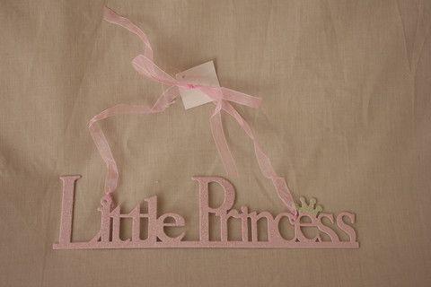Little Princess Hanging Door Sign