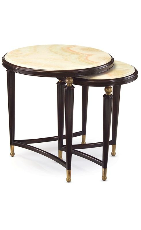 Cirrus Nesting Tables (Set Of From John Richard Furniture: Up To Off On Gilt