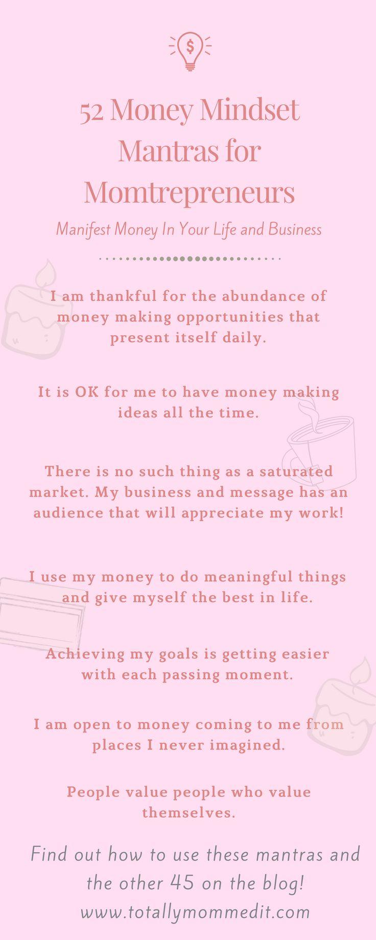 Manifest money in your life and business like a #momboss . #mompreneur #momtrepreneur #momblogger #hustlemama #manifestation #Manifesting