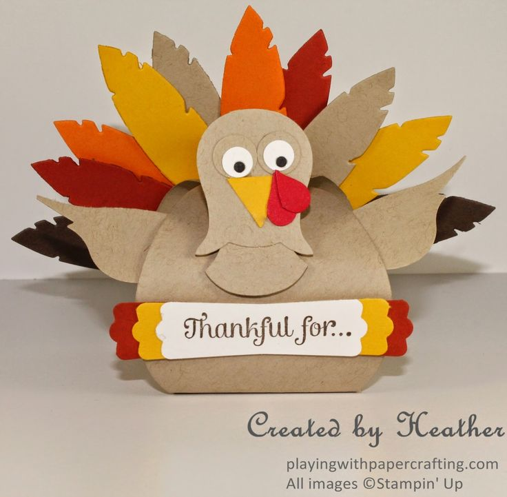 Playing with Papercrafting: Happy Thanksgiving, Canada!