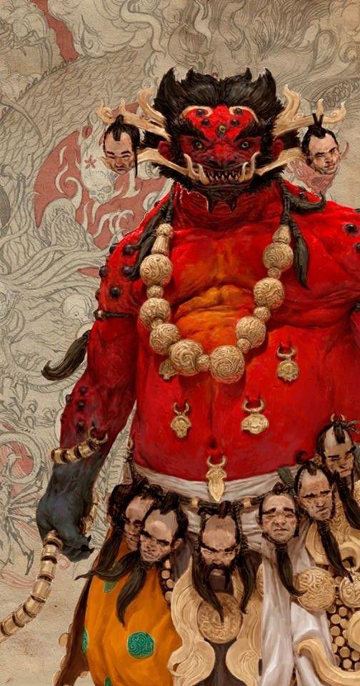 """Oni - """"Demônio"""" do folclore japonês"""