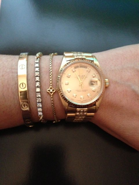 What other arm Candy do U stack w/ your Cartier Love Bracelet? - Page 5 - PurseForum