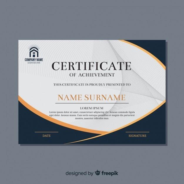 Beautiful Certificate Template Certificate Design Template Certificate Templates Business Card Template Word