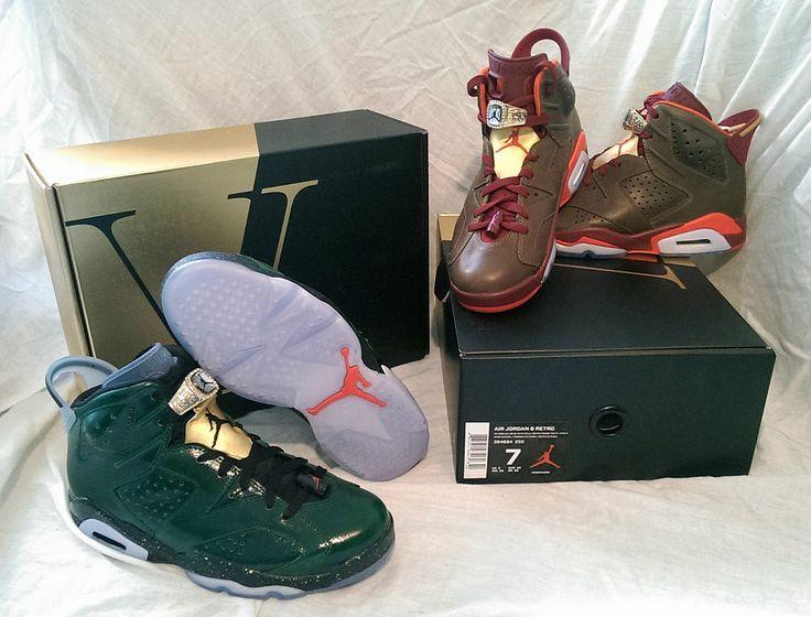 """Air Jordan 6 """"Champions Pack"""" with Air Jordan 6 Retro """"Cigar"""" and """"Champagne"""")"""