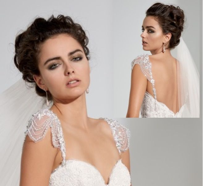 370 best DETACHABLE wedding gown straps, sleeves, keyhole backs ...