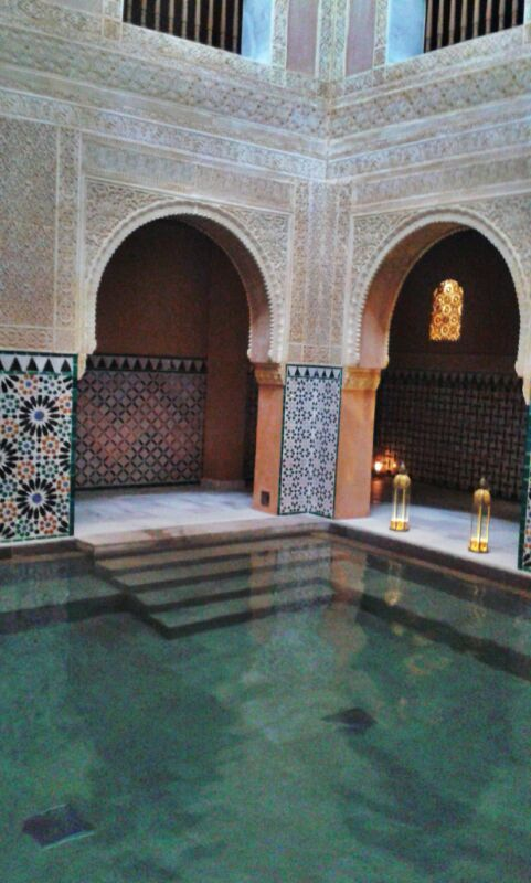 This haman is new in Malaga but built in the tradition of the arabic baths - beautiful hideaway for rainy days <3