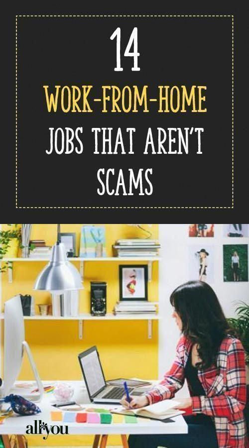 These work-from-home jobs are great for moms looki…