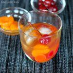 Mandarin Orange Old Fashioned Cocktail