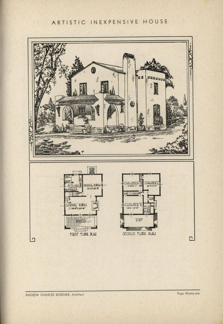 The Book Of Beautiful Homes. Spanish Style ...