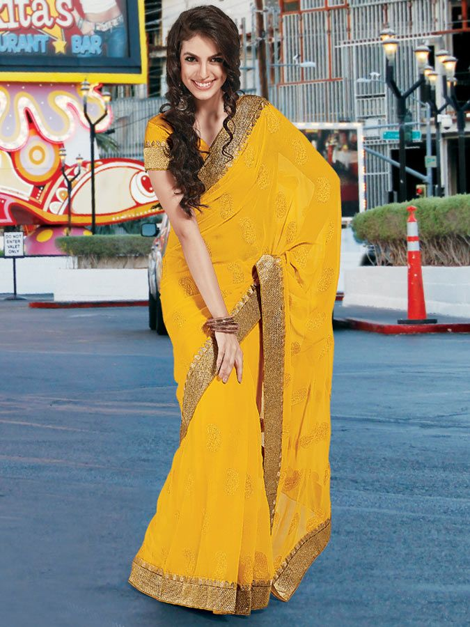 Saree is the traditional outfits of Indian woman which has already been in fashion since centuries.Buy Latest Collection Of Saree At Kalazone Silkmill.