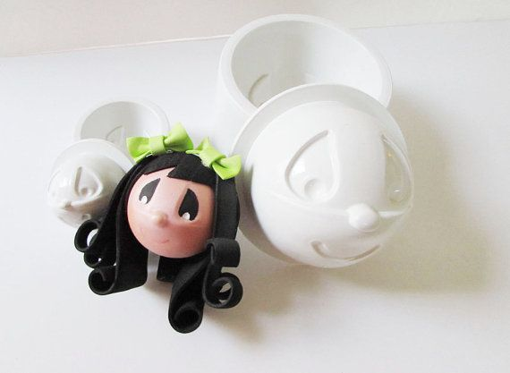 Fofucha Too Precious 3d foam mold 2 pack Small & by FofuchasDolls