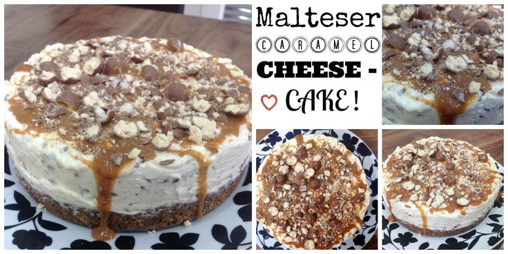 Malteser Caramel Cheesecake | Anisah Tahir | Girls Just Wanna Bake