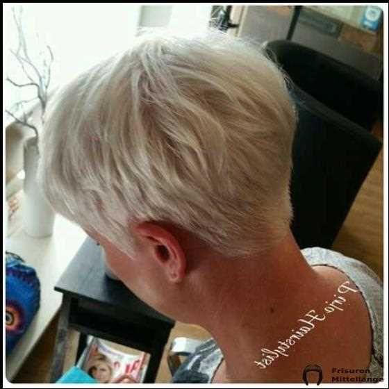 2019 Kurze Frisuren für ältere Frauen mit dünnem Haar # ...