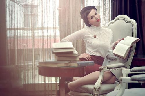 Pinup Library photo shoot