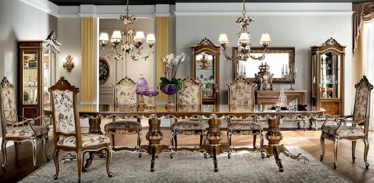 Classical Dining Room for Luxury Dining Time Idea