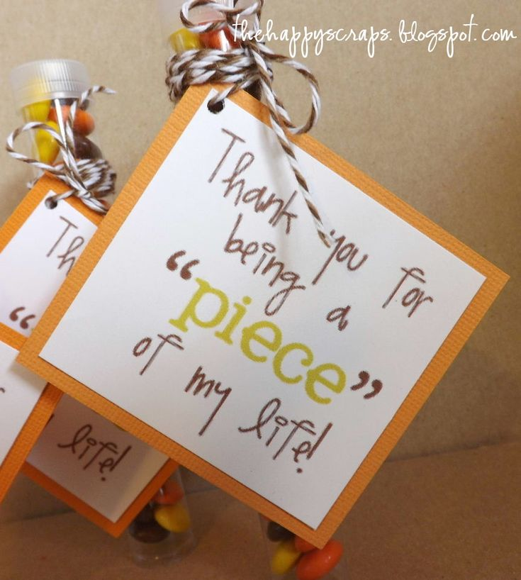 sample thank you letter for wedding shower gift%0A Teacher Appreciation Printable Reece u    s Pieces or a puzzle
