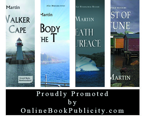 The Sgt. Windflower Mystery Series is cool, cozy and Canadian.  Learn more Mike Martin and his mystery series right here: http://www.onlinebookpublicity.com/cozy-murder-mystery.html Add your book to our network: http://www.onlinebookpublicity.com/bookpromotion.html