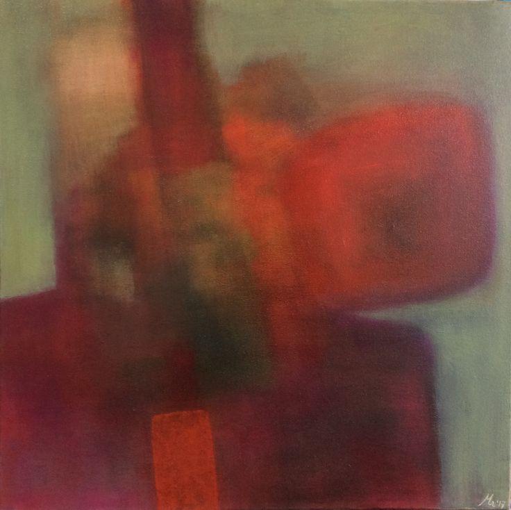 Abstract painting #oil on canvas #mirjamrinkel