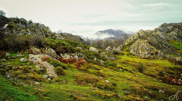Spanish mountains by anyffe.deviantart.com on @DeviantArt
