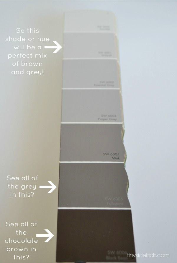 How to choose the perfect greige paint via tinysidekick for Warm neutral grey paint