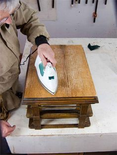Have a piece of antique furniture that needs some TLC? Learn more about repairing veneer on an antique with this helpful how to.
